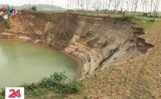 Phú Thọ: Báo động tình trạng sạt lở ven bờ sông Lô
