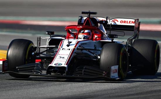 Kimi Raikkonen đạt thành tích tốt nhất sau ngày chạy thử thứ 2 tại Barcelona