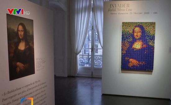 Bức tranh Mona Lisa từ rubik bán gần nửa triệu USD