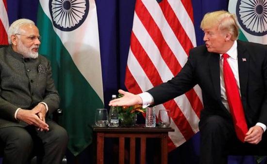 Tổng thống Trump: Mỹ và Ấn Độ sẽ ký hợp đồng quân sự hơn 3 tỷ USD