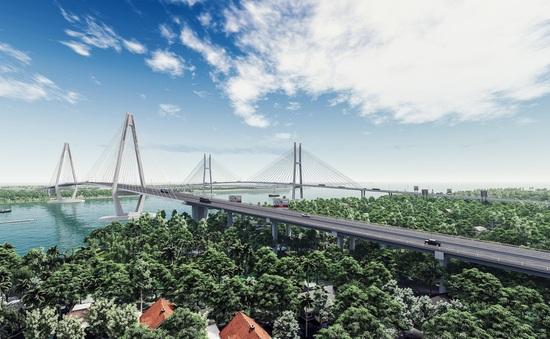 Triển khai thi công cầu Mỹ Thuận 2 vượt sông Tiền