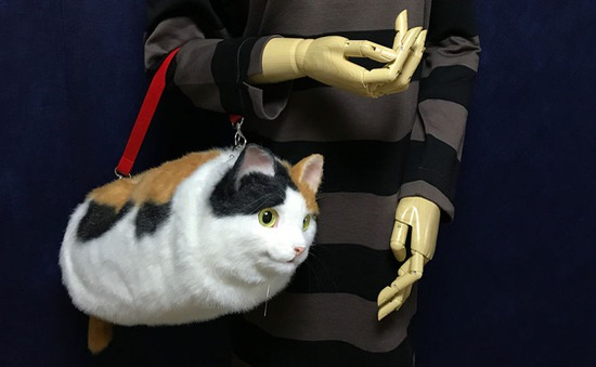 Những chiếc túi hình mèo gây sốt ở Nhật
