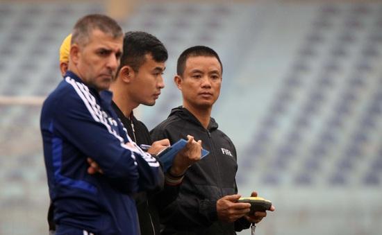 Kiểm tra thể lực trọng tài giải ngoài chuyên nghiệp 2020: Chỉ 1 trợ lý không đạt yêu cầu
