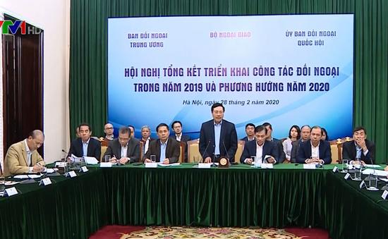 Tổng kết công tác đối ngoại nhân dân năm 2019 và triển khai nhiệm vụ năm 2020
