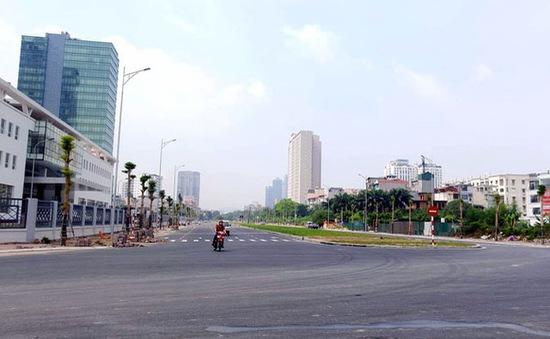 Hà Nội phân luồng phục vụ thi công đường Nguyễn Văn Huyên