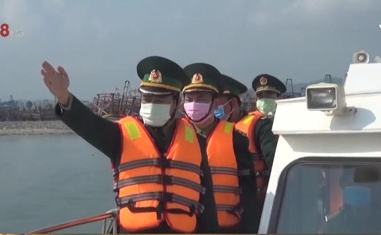 Quảng Bình: Ngăn chặn 26 thuyền viên vừa từ Trung Quốc trở về