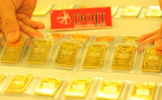 Hai thương hiệu vàng trong nước giảm mạnh phiên thứ 3 liên tiếp