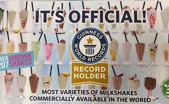 Nhà hàng tại Nam Phi lập kỷ lục về thực đơn đồ uống Milkshake