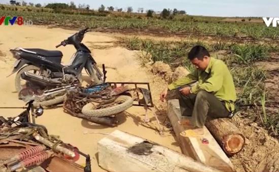 Công an huyện Ea Súp, Đắk Lắk tạm giữ 7 đối tượng tấn công kiểm lâm