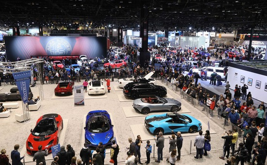 Gần 1.000 mẫu xe được giới thiệu tại Triển lãm Ô tô Chicago