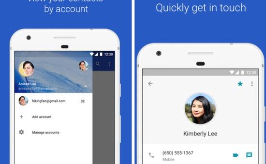 Google Contacts thêm tùy chọn đồng bộ danh bạ trên điện thoại