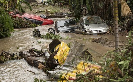 Brazil trải qua mùa mưa tồi tệ nhất lịch sử, thêm 40 người thiệt mạng