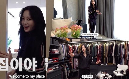 Han Ye Seul lần đầu tiết lộ nhà riêng trước công chúng