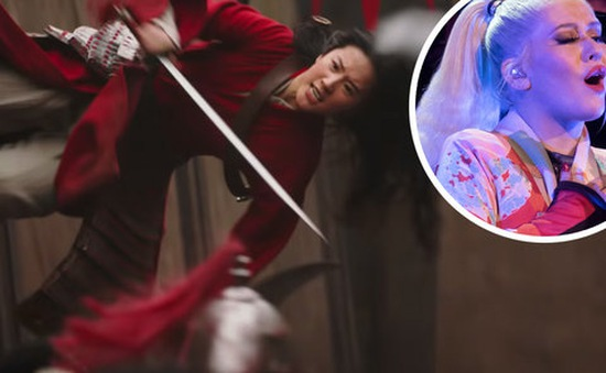 Christina Aguilera khen ngợi Hoa Mộc Lan hết lời