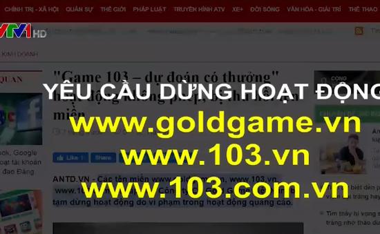 3 tên miền cung cấp game trực tuyến bị tạm ngưng hoạt động