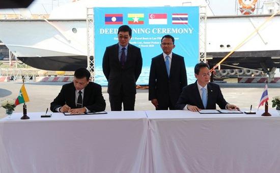 Thái Lan, Singapore, Lào và Myanmar thúc đẩy hợp tác chống tội phạm ma túy