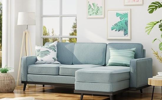 Thời tiết nồm ẩm, nên chọn sản phẩm ghế sofa chất liệu gì cho phòng khách?