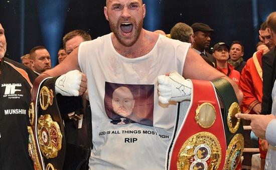 Tyson Fury bị tái điều tra án doping