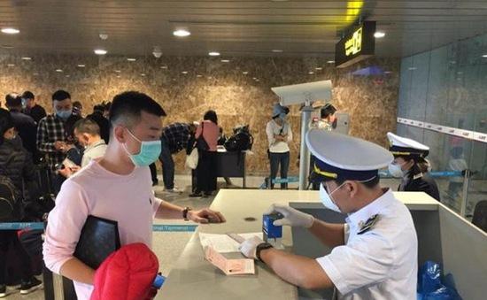 Rà soát tất cả người nước ngoài, người Việt Nam ở nước ngoài nhập cảnh vào Việt Nam từ ngày 8/3