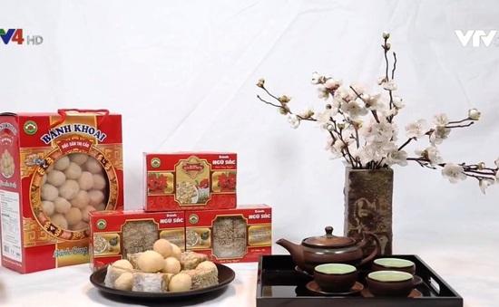 Bánh ngũ sắc Thị Cầu - Đặc sản thấm đượm hồn quê