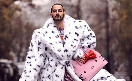 Khi NTK Marc Jacobs làm người mẫu
