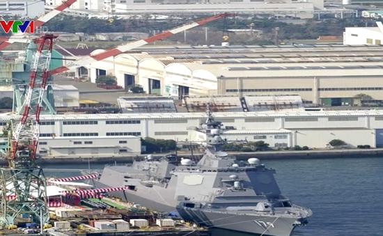 Nhật Bản triển khai tàu khu trục trang bị Aegis mới nhất