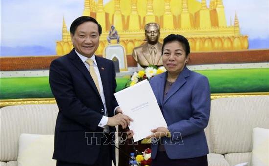 Điện mừng 65 năm Đảng Nhân dân Cách mạng Lào