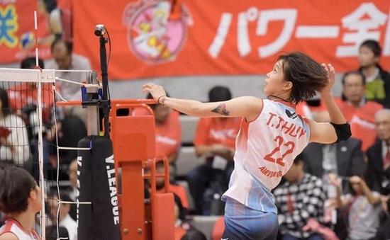 Trần Thị Thanh Thúy sẽ tiếp tục thi đấu bóng chuyền tại Nhật Bản