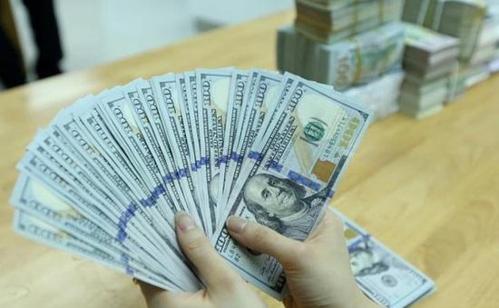 Tỷ giá USD tại các Ngân hàng thương mại tăng nhẹ