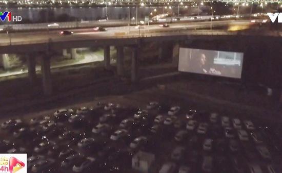 Rạp xem phim ngoài trời hút khách tại Hàn Quốc