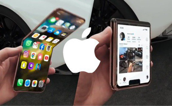 Đẹp không tỳ vết iPhone màn hình gập
