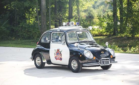 Đấu giá Subaru 360: Xe cảnh sát dễ thương nhất mọi thời đại
