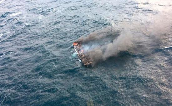 5 người Việt mất tích trong vụ cháy tàu ở ngoài khơi đảo Jeju, Hàn Quốc