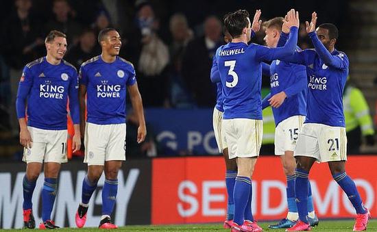 Leicester City 1 - 0 Birmingham City: Leicester City vất vả vào tứ kết FA Cup