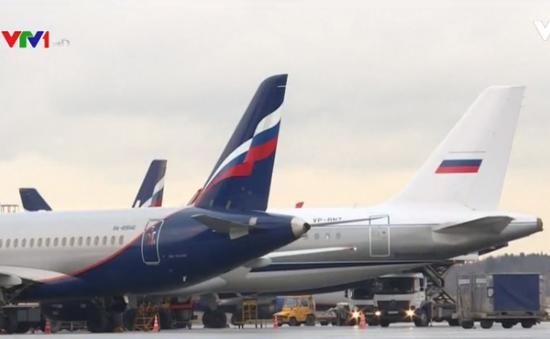 Nga: Cảnh báo giả trên máy bay có chất nổ