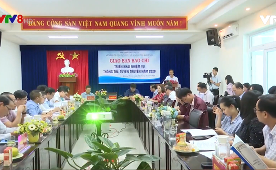 Quảng Nam hội nghị công tác báo chí 2020