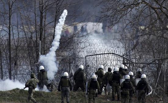 Tái diễn đụng độ giữa cảnh sát và người di cư tại biên giới Thổ Nhĩ Kỳ - Hy Lạp