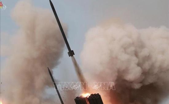 Triều Tiên phóng 3 vật thể tầm ngắn ra biển Nhật Bản