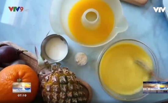 Tự làm nước ép bổ sung vitamin trong mùa dịch