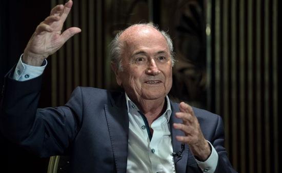 Đình chỉ vụ điều tra liên quan tới bản quyền truyền hình của Sepp Blatter