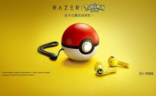 Tai nghe không dây mới dành cho fan của Pokémon