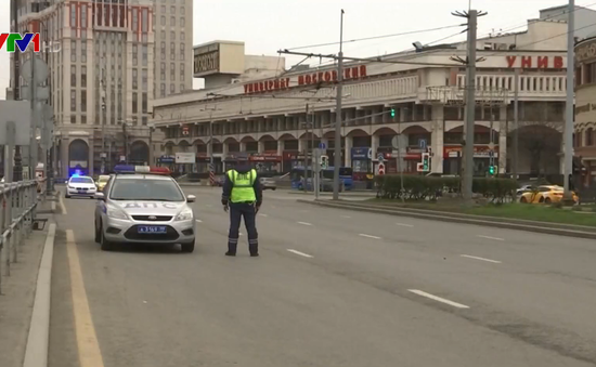 Moscow (Nga) siết chặt các biện pháp kiểm soát