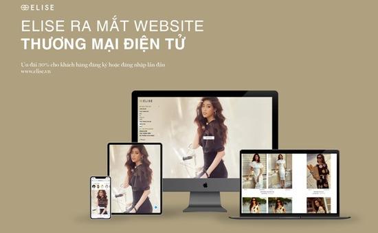 Thời trang Elise chính thức ra mắt Website thương mại điện tử trong mùa dịch