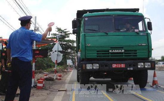 Xử lý 27 xe chở quá khổ, quá tải gây bức xúc trong dân tại Đồng Nai