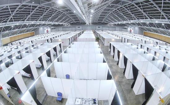 Trung tâm hội nghị - triển lãm lớn nhất Singapore trở thành cơ sở cách ly