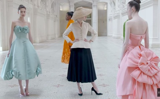 Dịch COVID-19, Dior tổ chức triển lãm trực tuyến