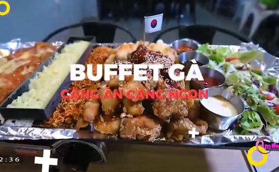 Thưởng thức chảo gà siêu to khổng lồ tại Hà Nội
