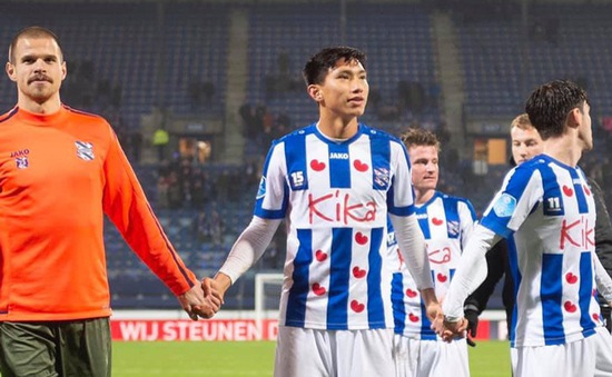 CLB SC Heerenveen chia tay 8 cầu thủ, không có tên Văn Hậu
