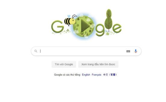Google cập nhật doodle kỷ niệm 50 năm Ngày Trái đất