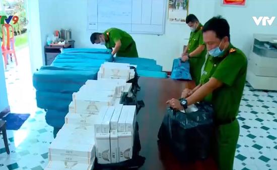 Phát hiện vụ vận chuyển 16.000 bao thuốc lá lậu tại Khánh Hòa